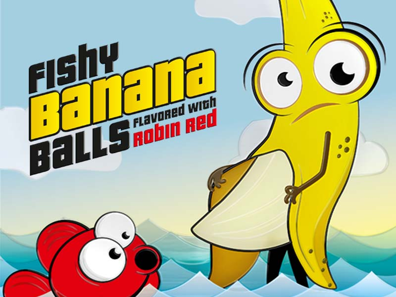 Fishy Banana Balls